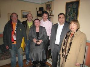Richard Hart, Dan McCurry, Pauline Morrison (candidate), Damien Egan (candidate), Len Duvall AM