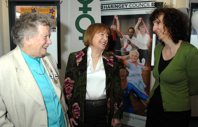 Violet Maddison (aged 91!) and Marina Cantacuzino founder of the Forgiveness Project