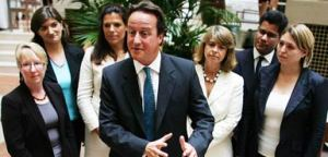 David Cameron lying back in 2006 that he was going to do more to promote women in the party...