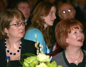 Jacqui Smith and Hazel Blears