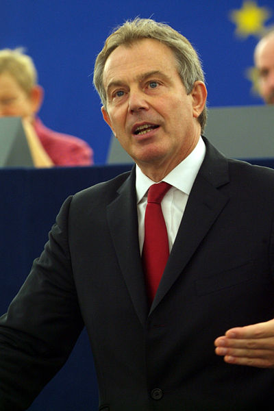 Blair at the European Parliament
