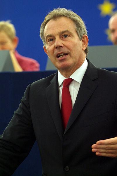 Blair at the European Parliament
