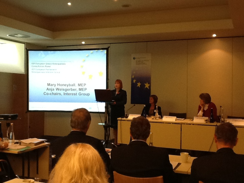 International Osteoporosis Foundation meeting, Brussels, 7 Novemer 2012