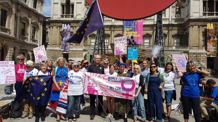 Mary Brexit March